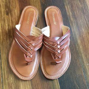 Francesca's flip flops